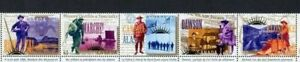 36499) CANADA 1996 MNH** Yukon goldrush 5v Uniforms