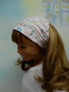 Haarband Bandana Kopftuch Sonnenschutz Kinder Meerjungfau Rosa UNIKAT Öko-Tex