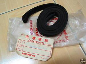 Honda LN360 STATIONWAGON Quarter Window Run Channel NOS Japan P/N 73117-549-050