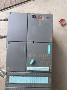 Siemens Simatic S7-300 ps307  PLC I/O Module 24v DC with I/O Modules.