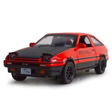 Initial D Toyota Sprinter Trueno AE86 1:28 Alloy Diecast Car Model Toy Vehicles