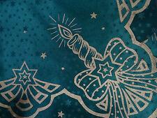 Weihnachtsdecken Weihnachtstischdecken Mitteldecke 80x80 Neu in Grün Weihnachten