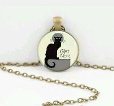 Unbranded Cat Glass Costume Necklaces & Pendants