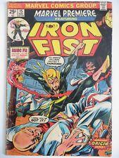 Marvel Premiere #15 1st Iron Fist App Danny Rand 1974 Netflix Show Season 2 HOT!