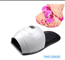 2-in-1 RW 4 LED UV Nail Lamp 48W  Lamp For finger and toe nail Curing All Gels