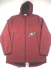 Under Armour Mens 2XL Dark Red Fishtail Sportstyle Full Zip Hoodie Jacket NWT