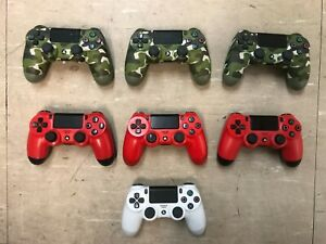 Job Lot PlayStation 4 Video Game Controllers qty 7 *Faulty*