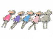 5pcs Pendentif de Petite Fille Coloré Breloque Charms pour DIY Bijoux