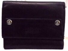 Sonoma Women's Wallet Small Trifold Black Leather
