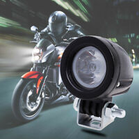 10W LED Motorcycle Spotlight Waterproof Durable Electromobile Light #G