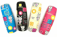 C35 Cute Kids Glasses Cases Happy Rabbit&Bear Cartoon Cover/For Small Spectacles