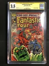 Fantastic Four #6 1968 Marvel 1st App Annihulus CGC SS Signed Joe Sinnott 🎗