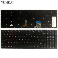 New For Lenovo Y50-70 Y50-80 25215987 US Black Backlit Keyboard T6B2-US