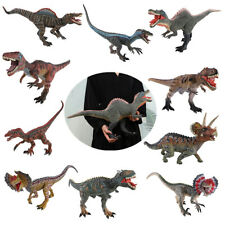 Large Dinosaur Figure T-Rex Velociraptor Dilophosaurus Sound Model Collector Toy