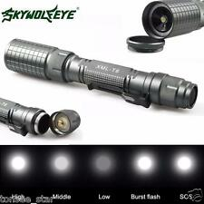 0 Profit Zoomable 4000LM 5Mode CREE XML T6 LED Torch Lamp Light 18650&Ladegerät