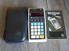 Vintage Texas Instrument TI-2550 Electronic LED Calculator