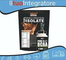 Proteine Whey Isolate gr 1000 + BCAA Aminoacidi Ramificati 8 :1:1 250 Compresse
