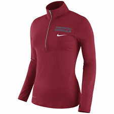 Washington Nationals Nike MLB Womens Tailgate Element Quarter Zip Pullover L NWT