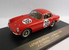 Modellini statici di auto da corsa sportive e turistiche blu lotus scala 1:43