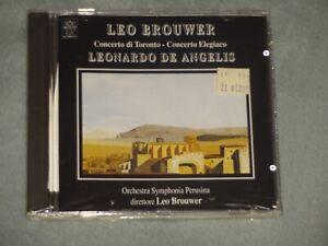 Brand New Leo Brouwer CD / Concerto Di Toronto / Leonardo De Angelis / SCA Italy