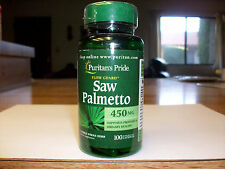 Saw Palmetto Flow Guard 450 mg., 100 Capsules