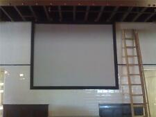 """78"""" X 72"""" GRAY grey PROJECTOR projection SCREEN MATERIAL 100% POSITIVE FEEDDACK"""