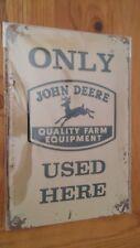 John Deere Here Blechschild 20 X 30 Cm