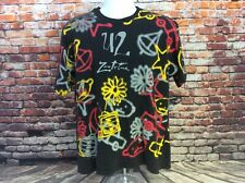 Vintage U2 Zoo TV Tour T Shirt Size XL All Over Print Single Stitched (106)
