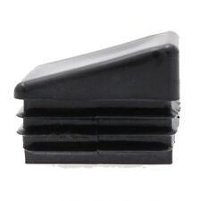 10 Pack Angled Rectangular Insert 40mm x 20mm,Plastic Chair Feet, Tube End Cap,