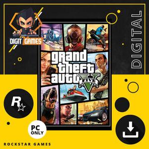 Grand Theft Auto V / GTA 5 - Rockstar Games Key / PC Game Download