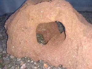 Large cave aquarium fish tank decoration holey rock stone swim hole hideout den