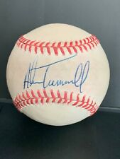 New ListingAlan Trammell autographed baseball - Detroit Tigers Shortstop and 1984 W.S. Mvp