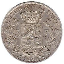 Belgie 1870  5 Frank Leoppold II