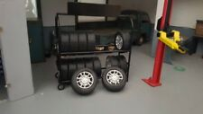 American Diorama 77530 Zubehör - Metall Reifengestell  1:24