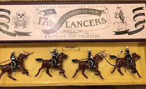 Britains: Boxed Set 8806 - 17th Lancers. 54mm Metal Models