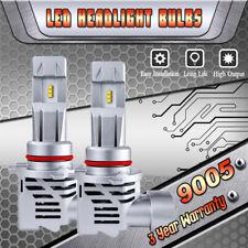 2X 9005 HB3 LED Headlight Bulbs Kit High Beam 6500K White 120W 24000LM M3 Mini