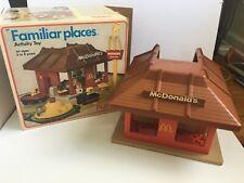 McDonalds Familiar Places playset - Playskool 1974 COMPLETE w/box