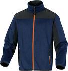Delta Plus Panoply Beaver Knitted Poyester Cardigan Softshell Jacket Coat