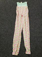 Mini Boden ~ Girls Floral Jumpsuit Romper ~ Size 9-10