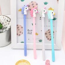 6Pcs Lovely Cute Cartoon Horse Unicorn Gel ink Pens Office School Stationery LOT