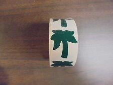 (Usato) Rotolo Di Verde Palma Albero Abbronzatura Adesivi