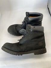 Timberland Men 6-Inch Premium Waterproof Boot with Box - Black T517