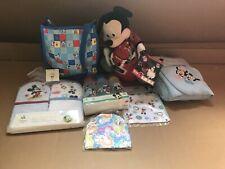 Disney MiCKEY mini diaper bag +towels+bottles New