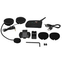 EJEAS V6 Pro Motorcycle Helmet Bluetooth Intercom Interphone Headset For 6 Users