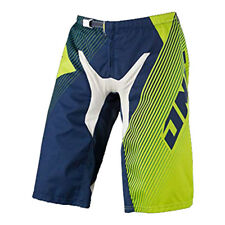 One Industries Gamma DH Czar Blue Green BMX Bike Racing Shorts Cycling NWT 32