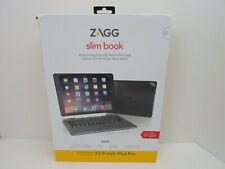 "ZAGG slim book Wireless Keyboard & Detachable Case for all models 12.9"" iPad Pro"