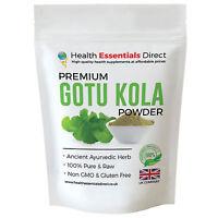 Premium Gotu Kola Powder (Full Spectrum - Highest Quality) Choose Size: