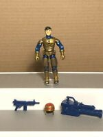 GI Joe - 1992 Barricade v1 - Includes Helmet, 2 Weapons, & Figure Stand
