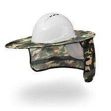 New listing Hard Hat Sun Shade Full Brim Mesh Neck Sun Shield Protector High Visibility