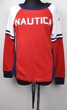 NAUTICA Women's M Sweatshirt Crew Neck 100% Cotton Stitched Jumper Top Ladies